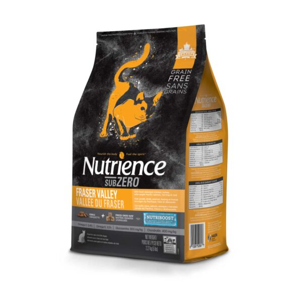 Nutrience Subzero Fraser Valley (Cat All Life Stages) 2.27 kg.