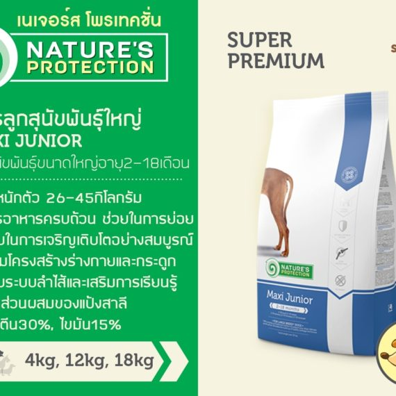 Nature's Protection MAXI JUNIOR 4 kg