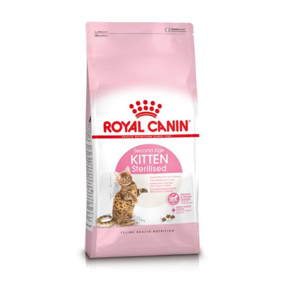 Royal Canin KITTEN STERILISED 400 g/ 2 kg