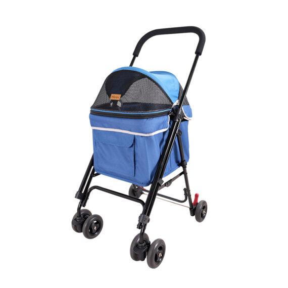 IBIYAYA Astro Go Lite Pet Stroller – Grungy Blue FS1732-B