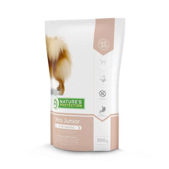 NATURE'S PROTECTION Mini Junior 500g / อาหารสูตรลูกสุนัข (1 FREE 1)