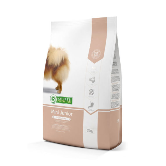 NATURE'S PROTECTION Mini Junior 2 kg / อาหารสูตรลูกสุนัข