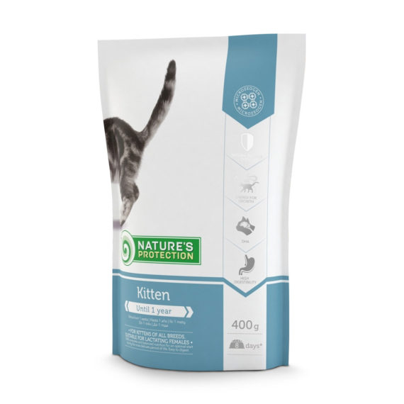 Nature's Protection Kitten 400 g 1 FREE 1