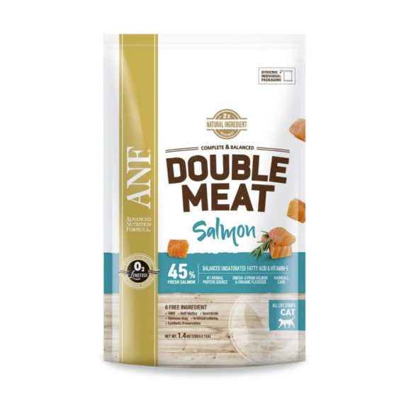 ANF – CAT DOUBLE MEAT SALMON 1.4 KG