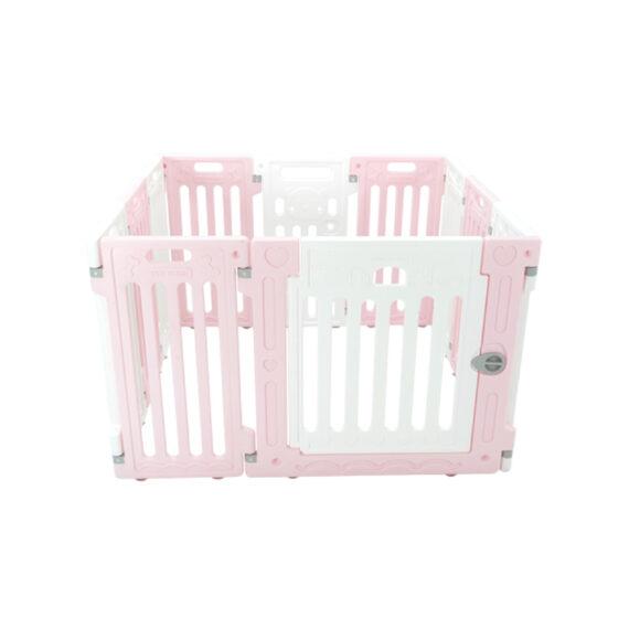 คอกสุนัข รุ่นเพ็ทโฮม S ชมพู ขาว/ Pet Fence (S)  pink white