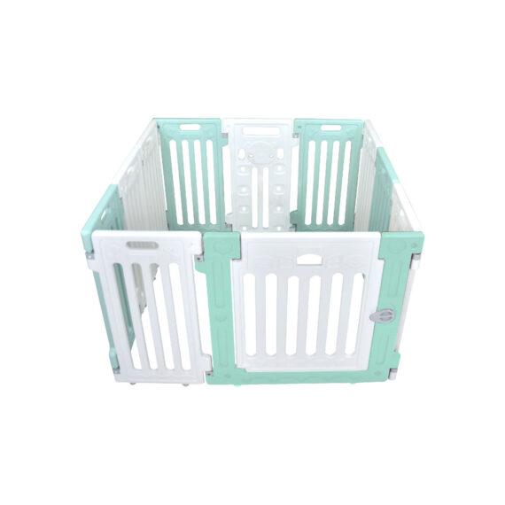 คอกสุนัข รุ่นเพ็ทโฮม S เขียว ขาว/ Pet Fence (S)  green white