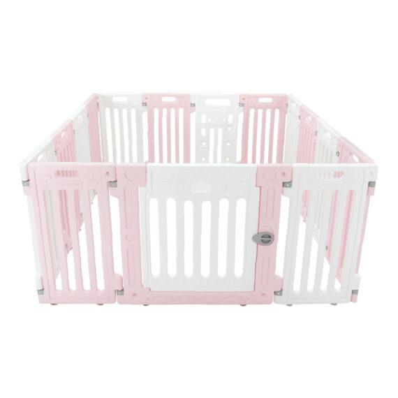 คอกสุนัข รุ่นเพ็ทโฮม L ชมพู ขาว/ Pet Fence (L)  pink white