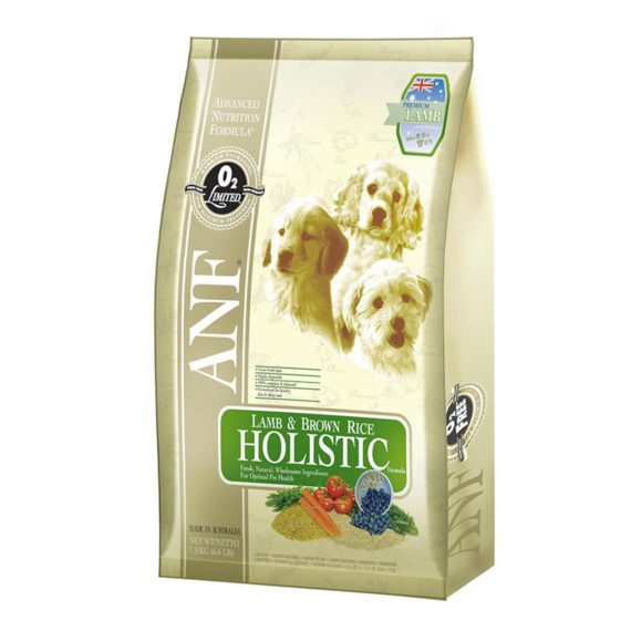 ANF-Lamb & Rice Holistic-7.5 Kg – อาหารสุนัขทุกสายพันธุ์ ทำจากเนื้อแกะ ดูแลผิวหนัง และขน