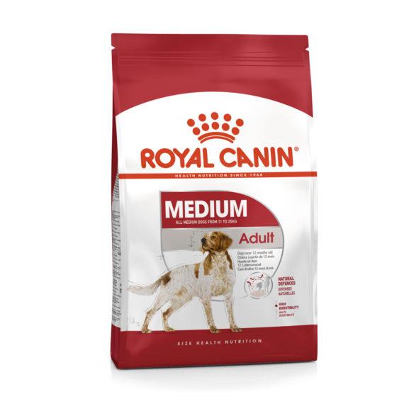 Royal Canin MEDIUM ADULT 4 kg/ 10kg/ 15kg