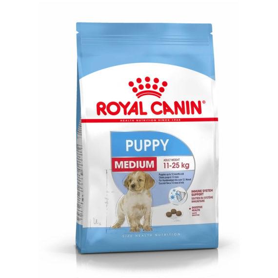 Royal Canin MEDIUM PUPPY 1 kg/ 4 kg/ 10 kg/ 15 kg