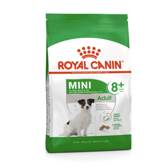 Royal Canin MINI ADULT 8+ 2 kg/ 8 kg