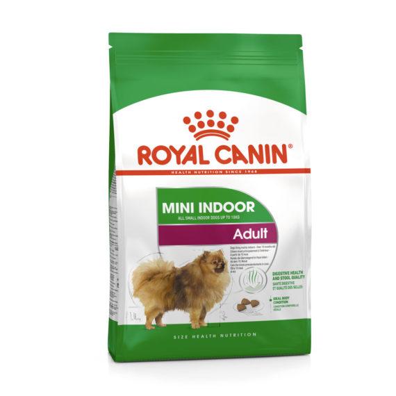 Royal Canin MINI INDOOR ADULT 500 g/ 1.5 kg / 3 kg / 7 kg