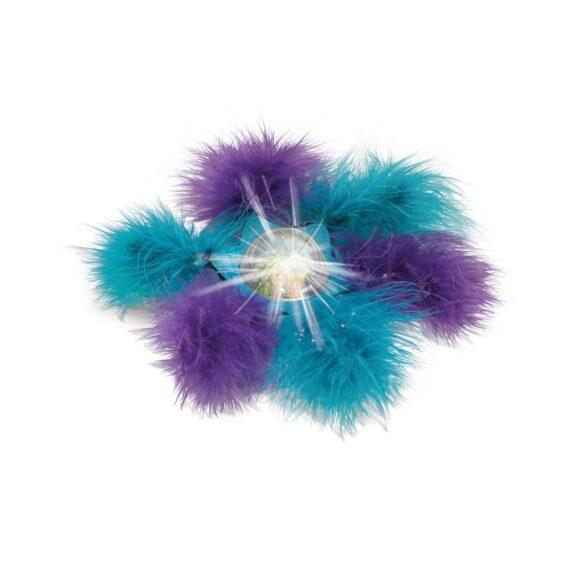 KONG Bat-A-Bout Flicker Flurry for cat ลูกบอลวิบวับพร้อมขนนุ่ม