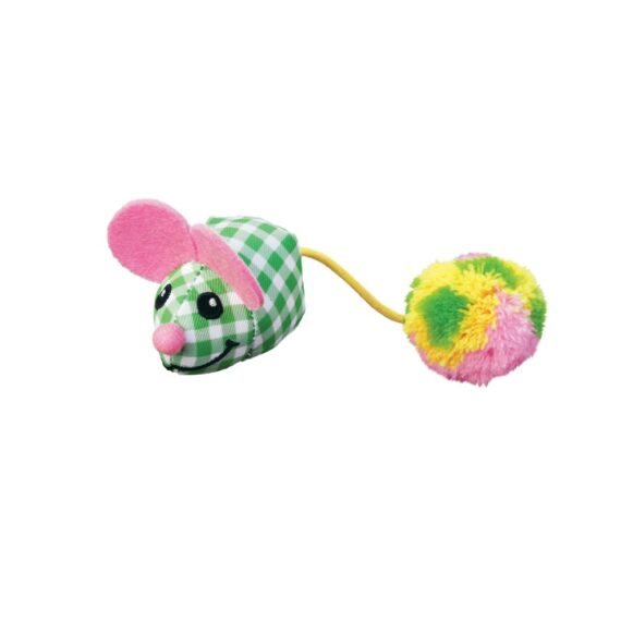 KONG Kitten Pom Tail Mouse/ ของเล่นแมว