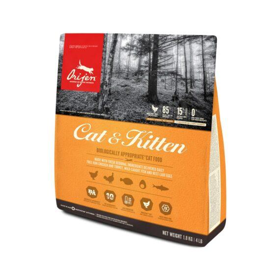 ORIJEN CAT&KITTEN/ โอริเจน สูตรแมวและลูกแมว 1.8 kg