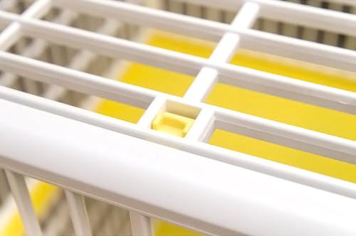 IRIS Plastic Pet Cage (Yellow) กรง 2 ชั้น สีเหลือง