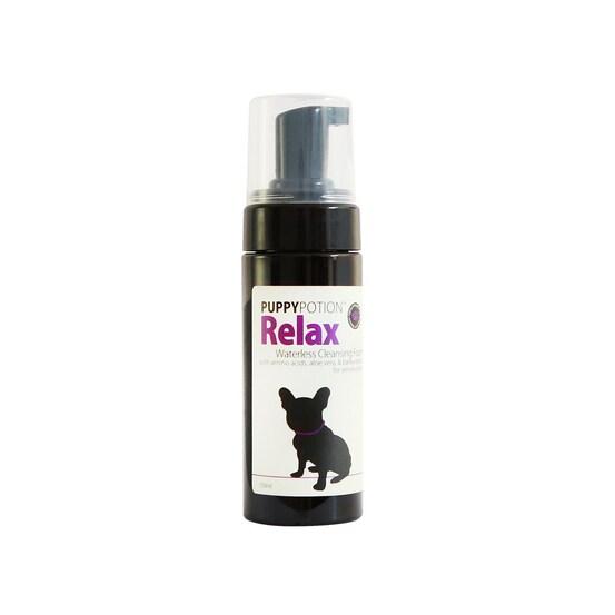 Puppy Potion Relax Waterless Cleansing Foam/ โฟมอาบแห้งรีแล็กซ์ 150 ml