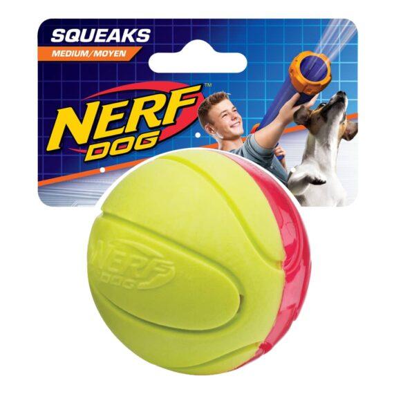 Nerf Dog Blaster TPR/Foam Squeak Ball (2.5 in)-ลูกบาสสำหรับสุนัข