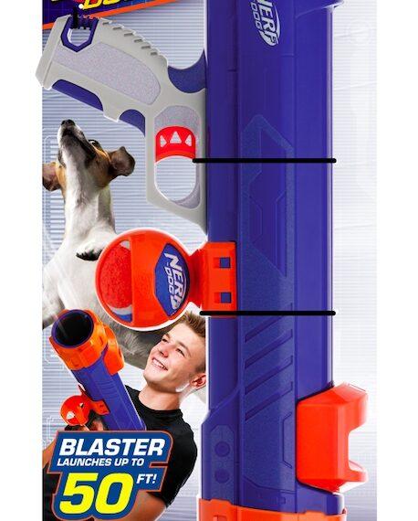 Nerf Dog Tennis Ball Blaster – Medium 16″