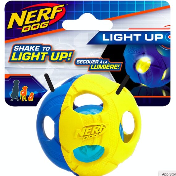 Nerf Dog LED BASH Ball, Small (2.5 in)