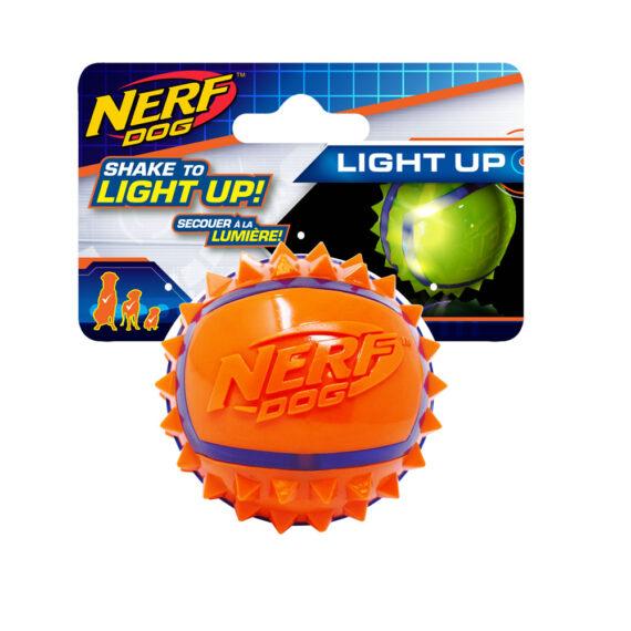 Nerf Dog LED Spike Ball (2.5 in)