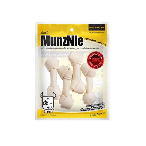 Munznie กระดูกผูก รสนม 4นิ้ว 4 ชิ้น