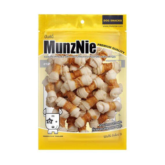 Munznie กระดูกผูกขาวพันไก่ 22 ชิ้น