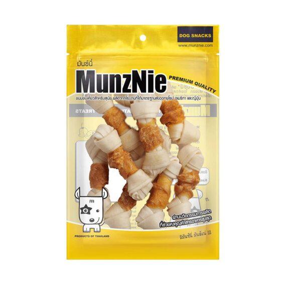 Munznie กระดูกผูกขาวพันไก่ 9 ชิ้น