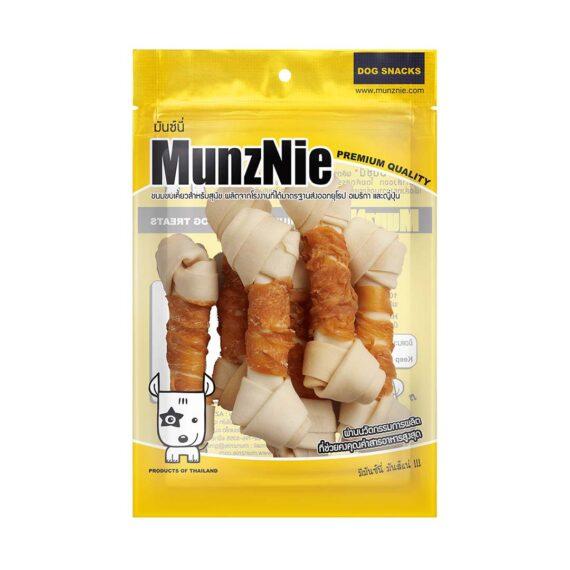 Munznie กระดูกผูกขาวพันไก่ 6 ชิ้น
