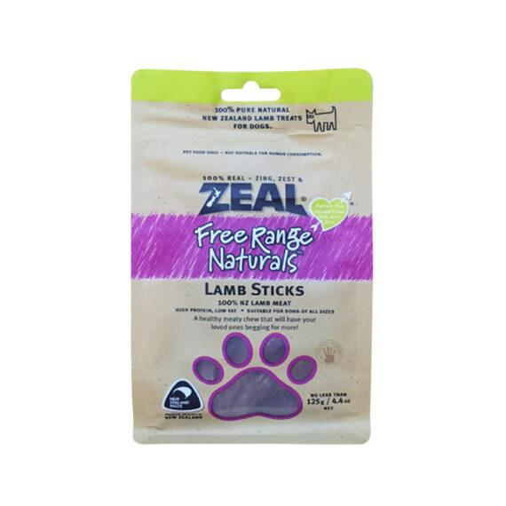 ZEAL LAMB STICKS 125g/ เนื้อแกะอัดแท่ง