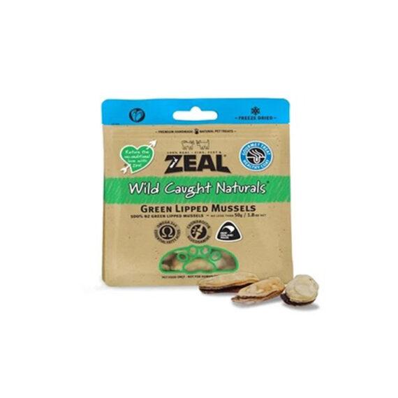 ZEAL Green LIPPED MUSEELS  50g/ หอยแมลงภู่นิวซีแลนด์  ฟรีซ-ดราย